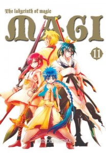 Magi: Labyrinth of Magic: tom 11