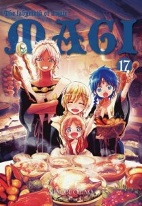Magi: Labyrinth of Magic: tom 17