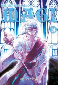 Magi: Labyrinth of Magic: tom 24