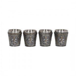 Armoured Shot Glass (Set of 4) 6.5cm